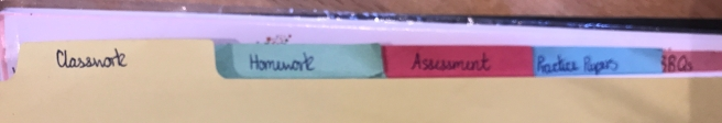 Folder dividers
